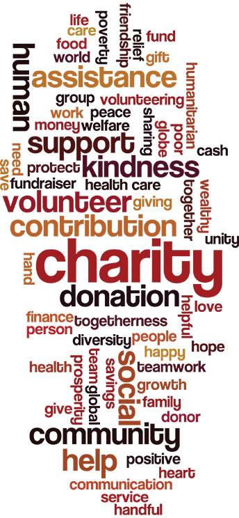 Donation Word Jumble